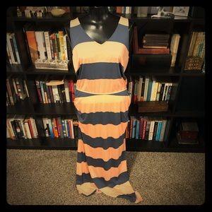 Splendid Luna Lake Striped Maxi Dress